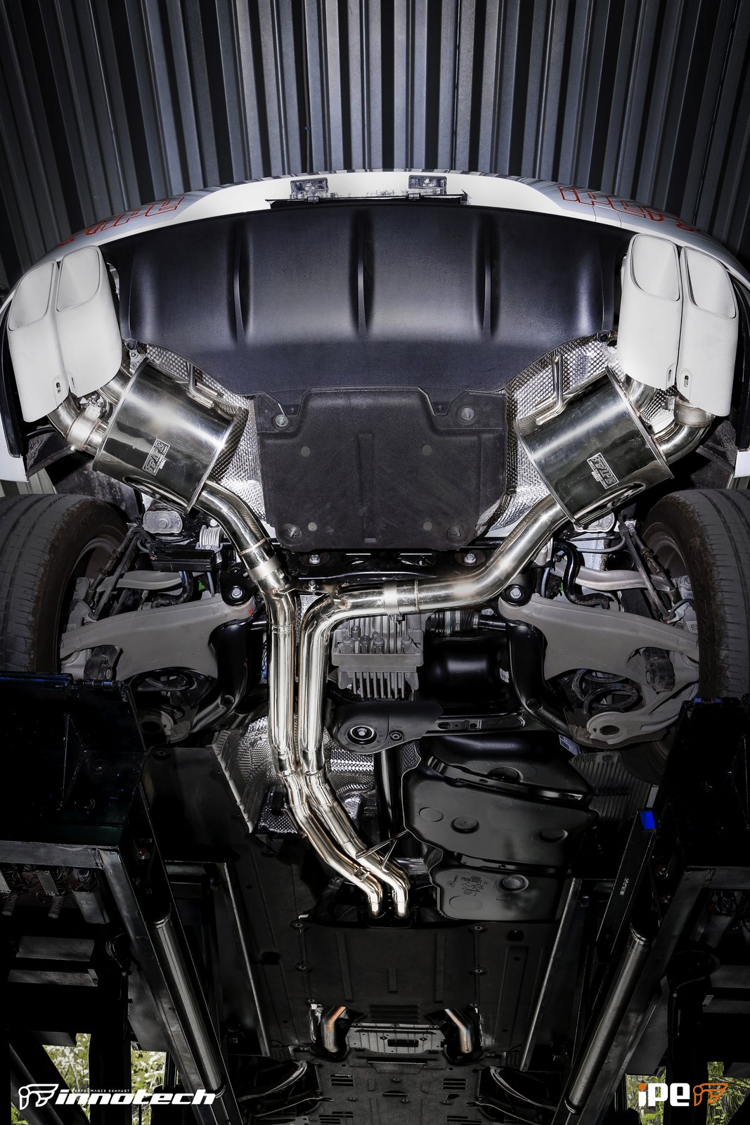 Porsche Macan Turbo IPE Exhaust
