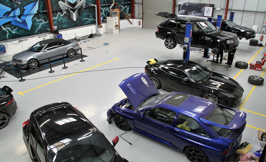car tuning service workshop