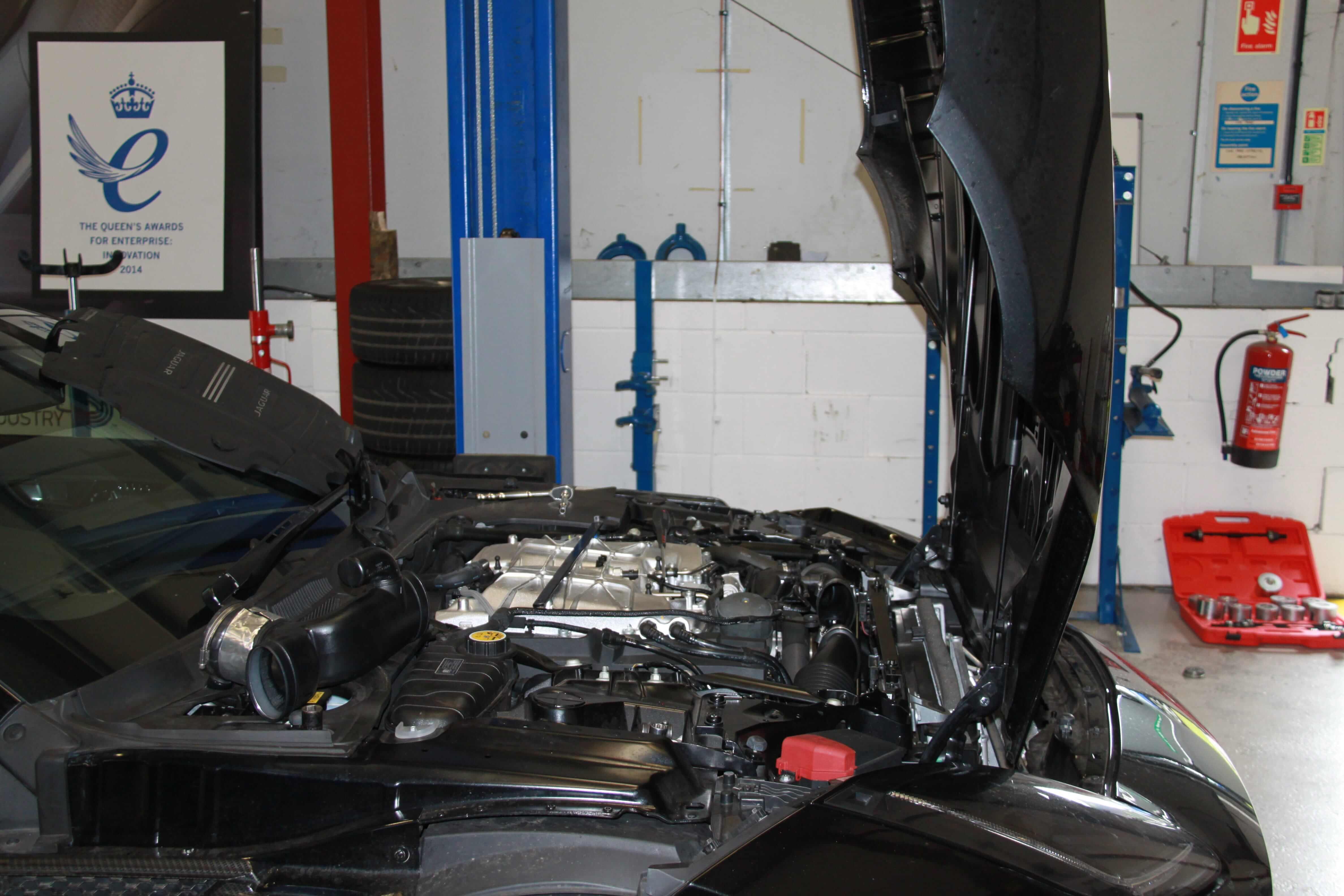 jaguar workshop and service