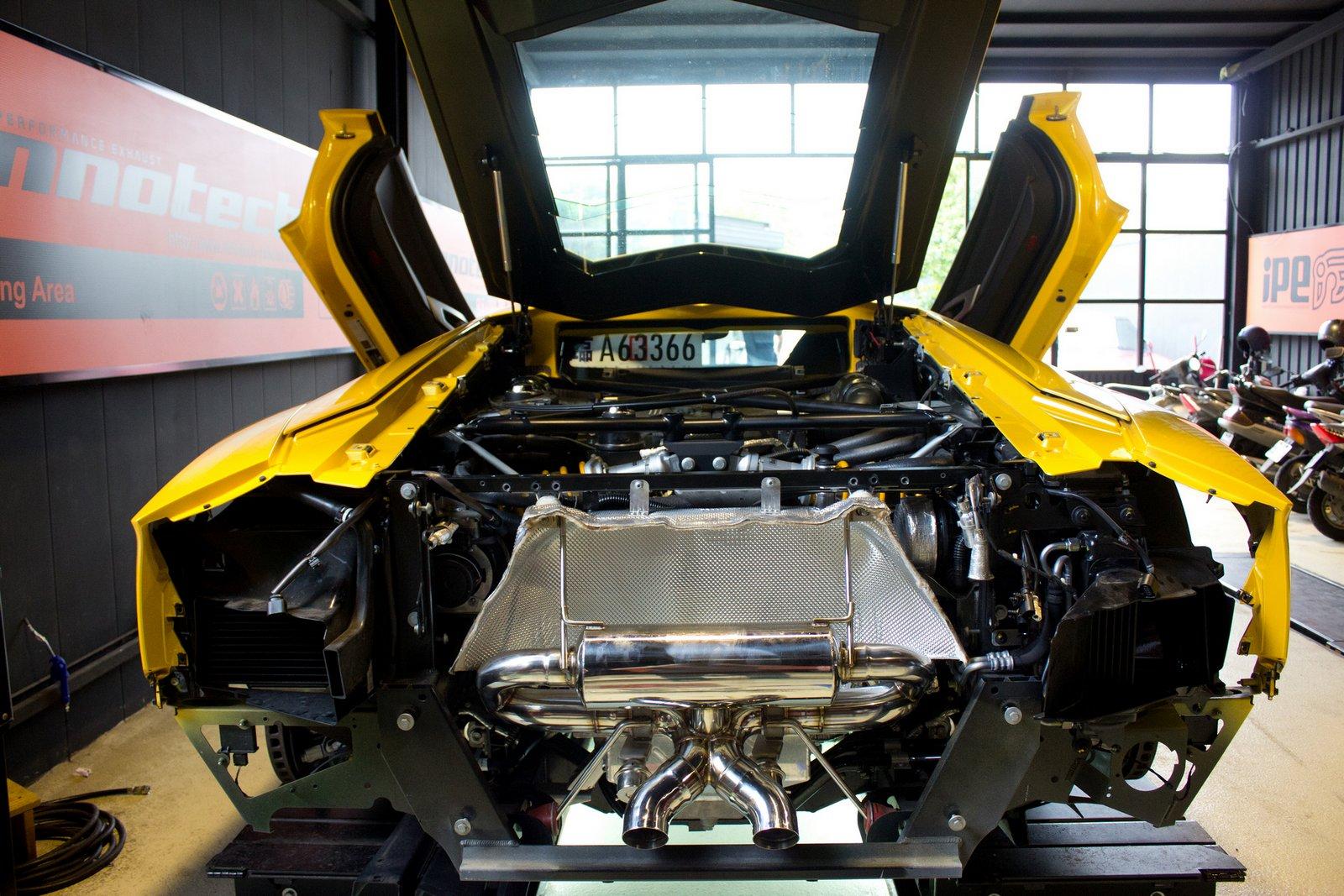 iPE Lamborghini Aventador LP700-4 Exhaust 06