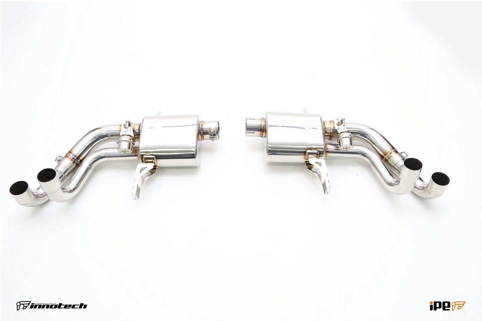 iPE Lamborghini Huracan LP610-4 Exhaust  04
