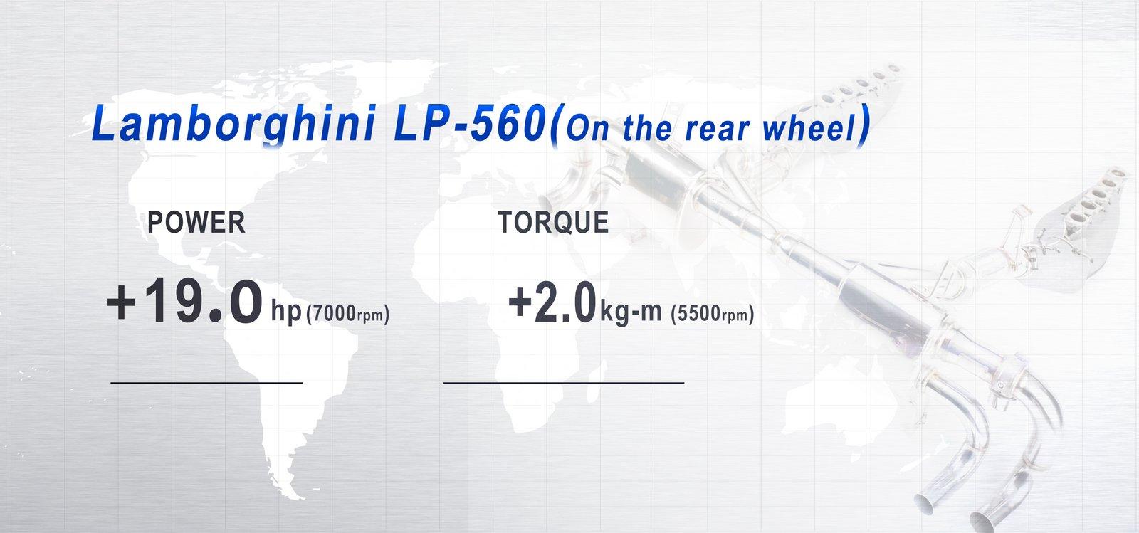 iPE Lamborghini LP560 Exhaust 01