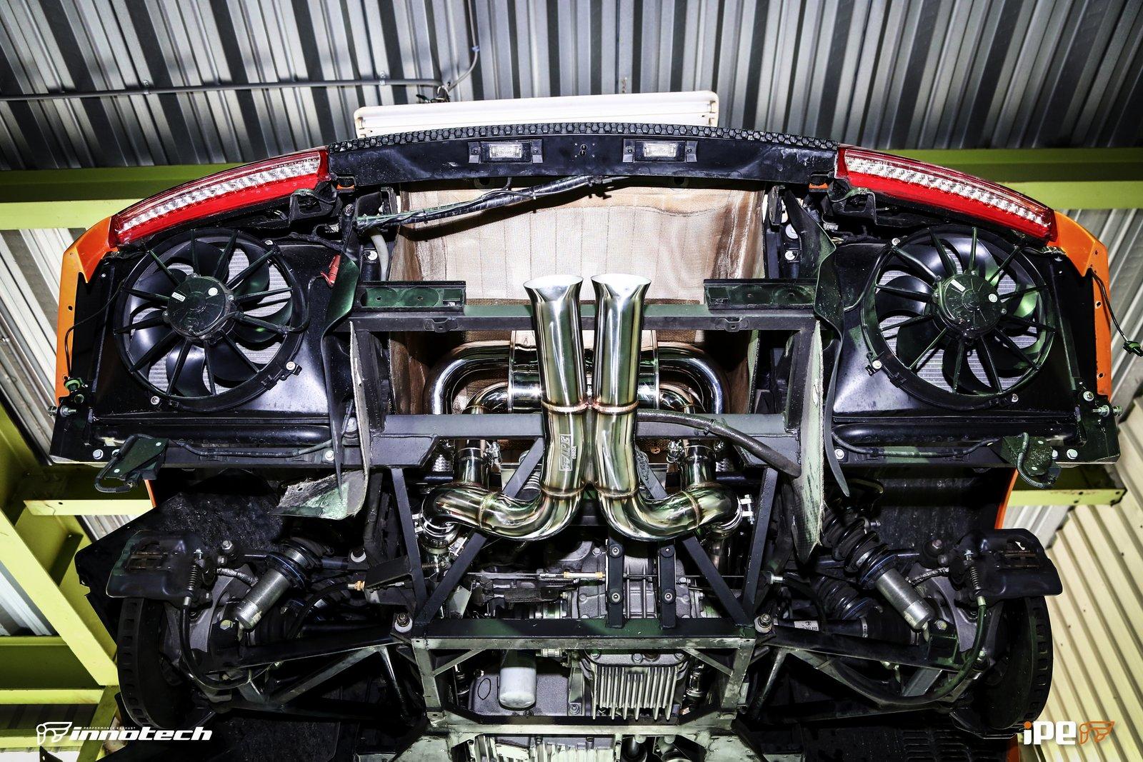iPE Lamborghini LP-640 Exhaust