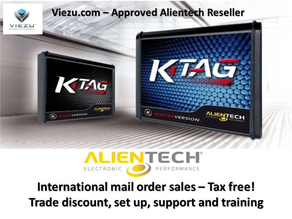 Alientech tuning tools, kess K-tag