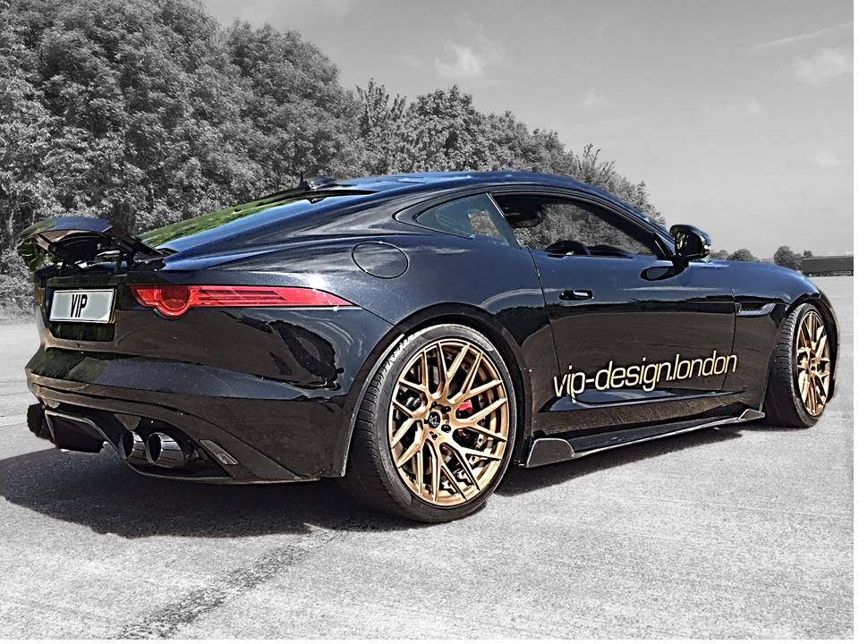 Jaguar F type wheels