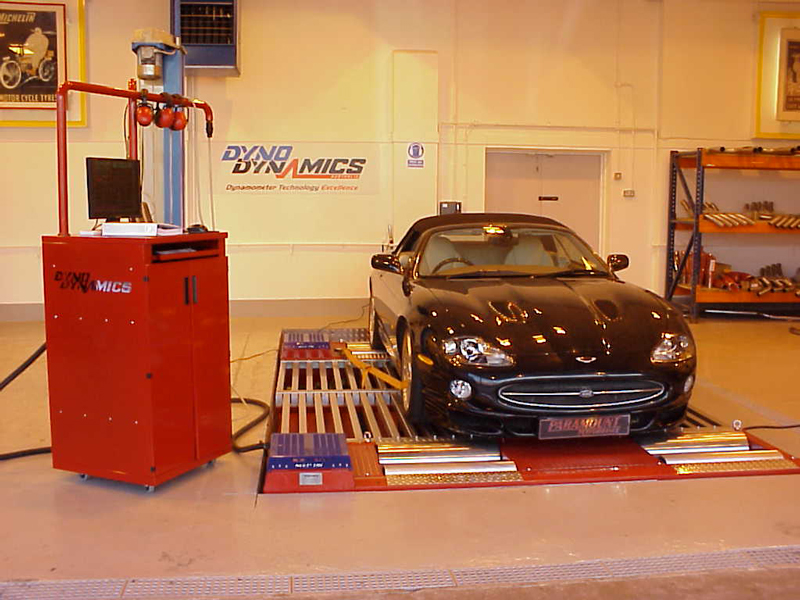 Jaguar XKR 4.2 engine tuning