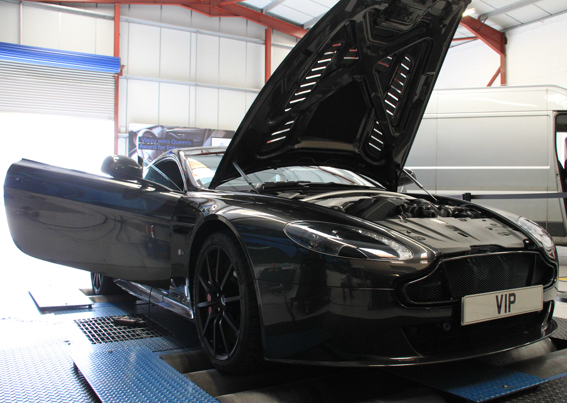 Aston Martin Vantage tuning from Viezu