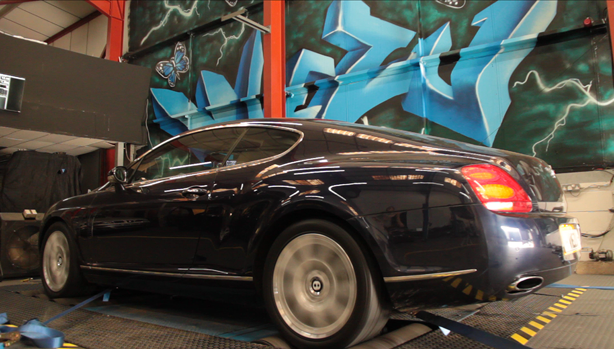 Bentley Continental GT Tuning Dyno