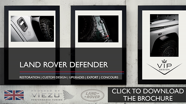 Land Rover Defender Restoration click to download the brochure