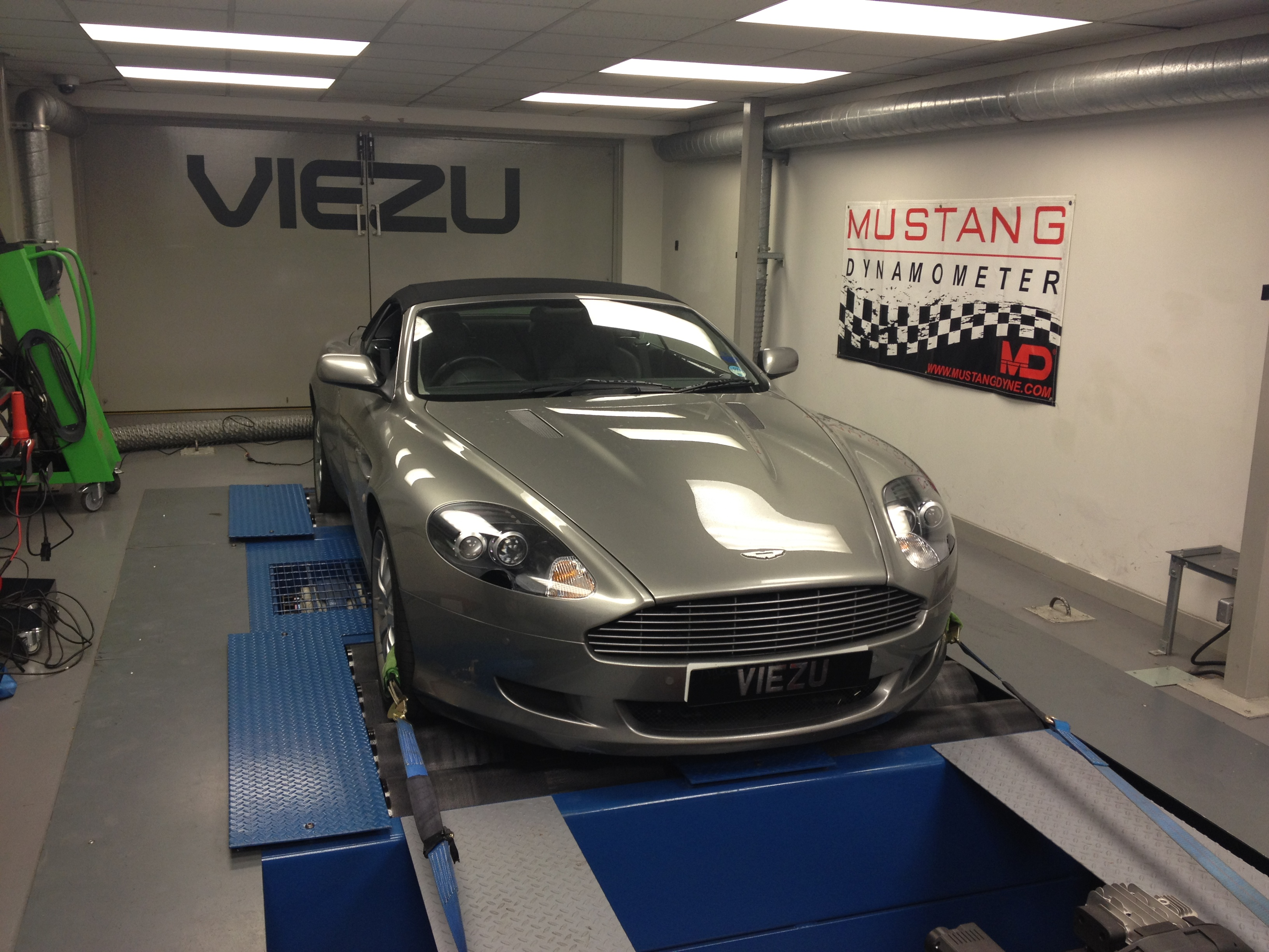 DB9 tunign now avaialble at Viezu