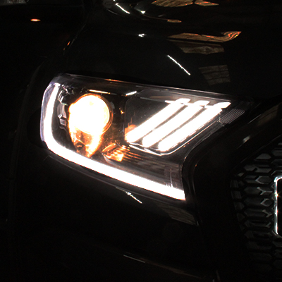 Ford Ranger Mustang Style Lights - Halogen Bulbs