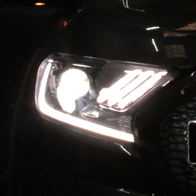 Ford Ranger Mustang Style Lights - LED BULBS