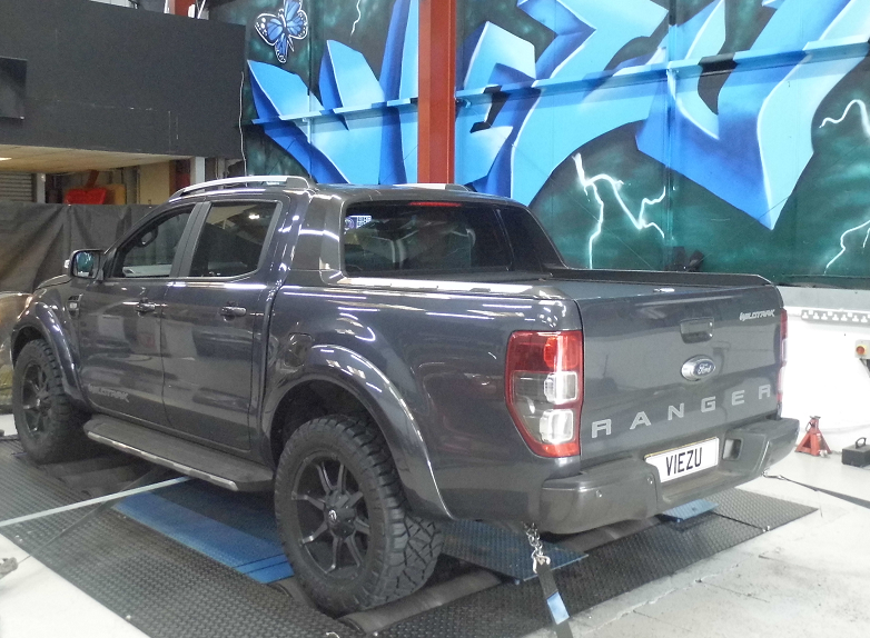 Ford Ranger tuning and styling engine tune