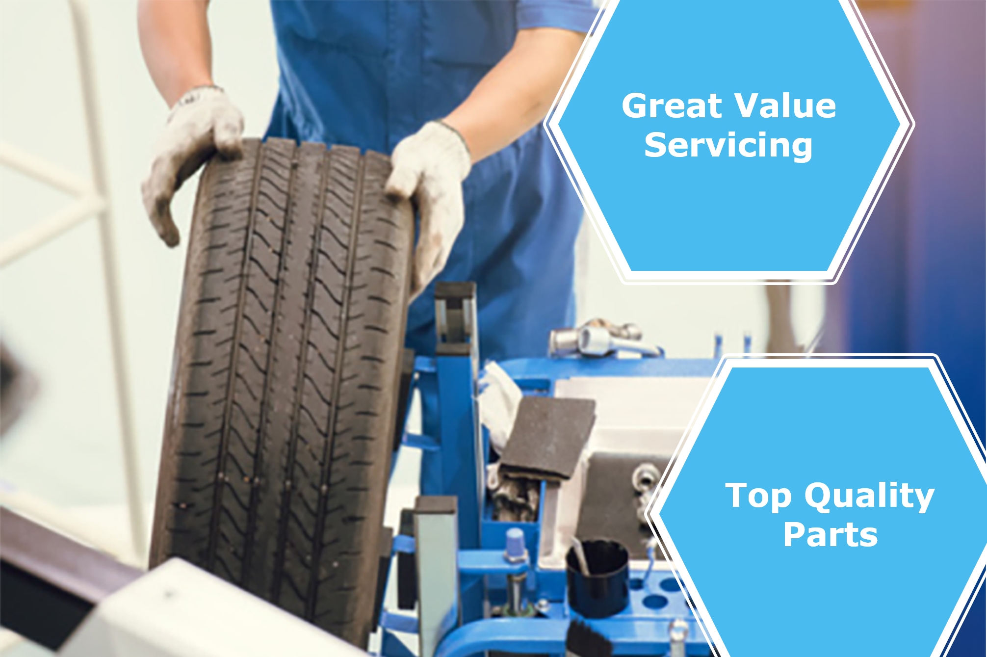 Vehicle servicing - great value servicing - top quality parts