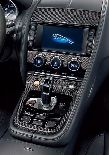 Jaguar F-Type Carbon Fibre Dashboard