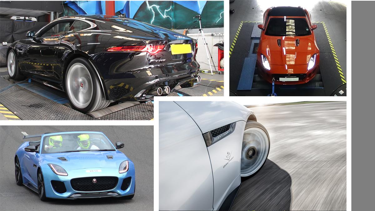 Jaguar F-Type Rolling Road Dyno Testing