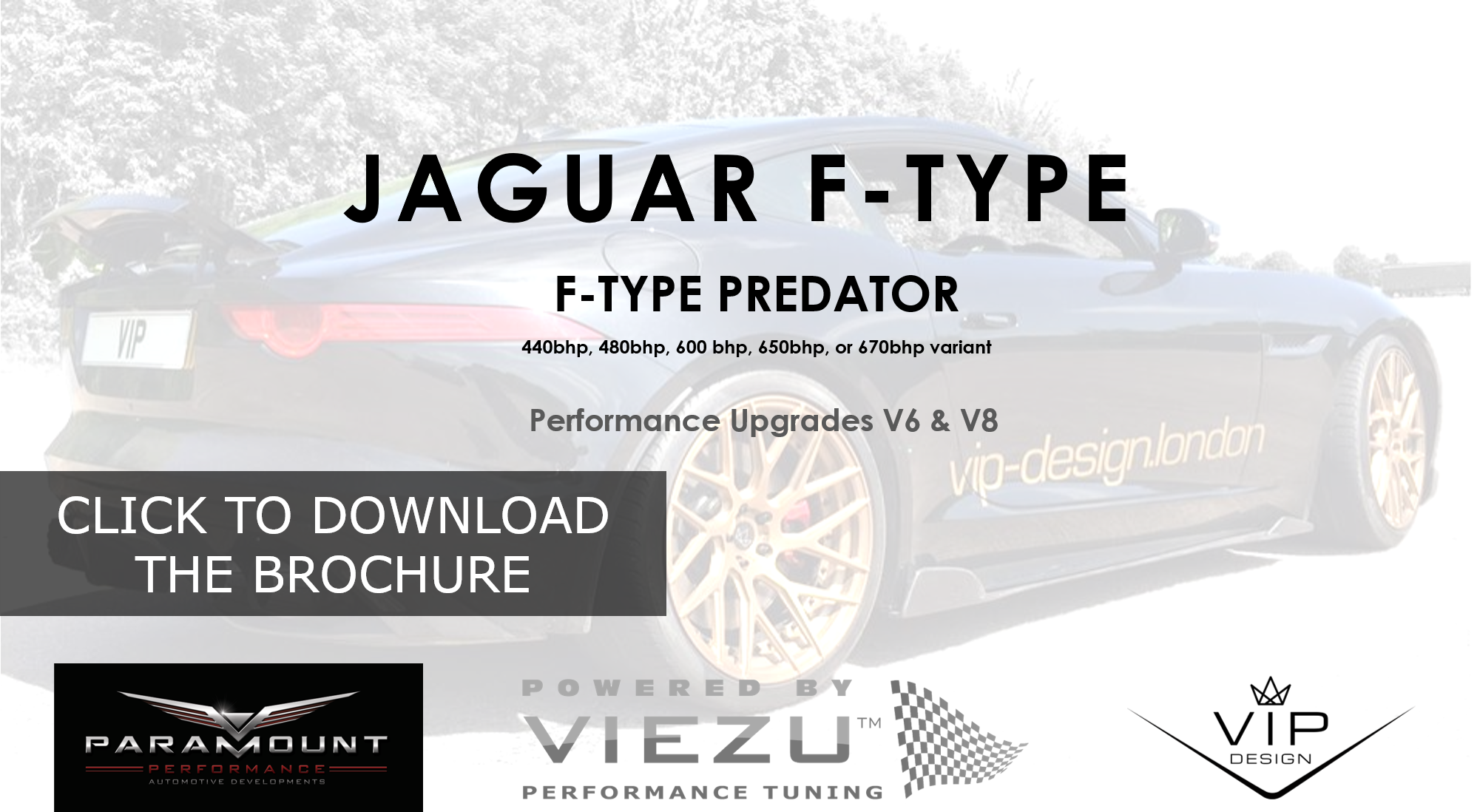 Jaguar F-Type Specialist Tuning & Styling Download the Brochure
