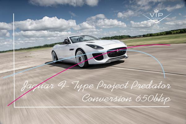 650bhp F-Type Conversion