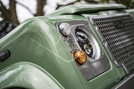 Land Rover Defender Heritage Restoration - LED Light Upgrade