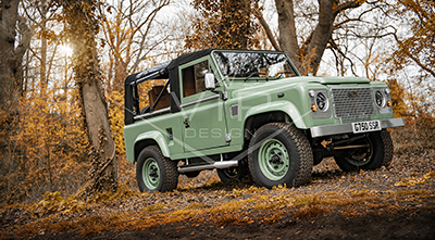 Land Rover Defender Heritage Restoration
