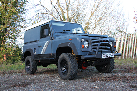 Land Rover Defender Project Harriet Arrival