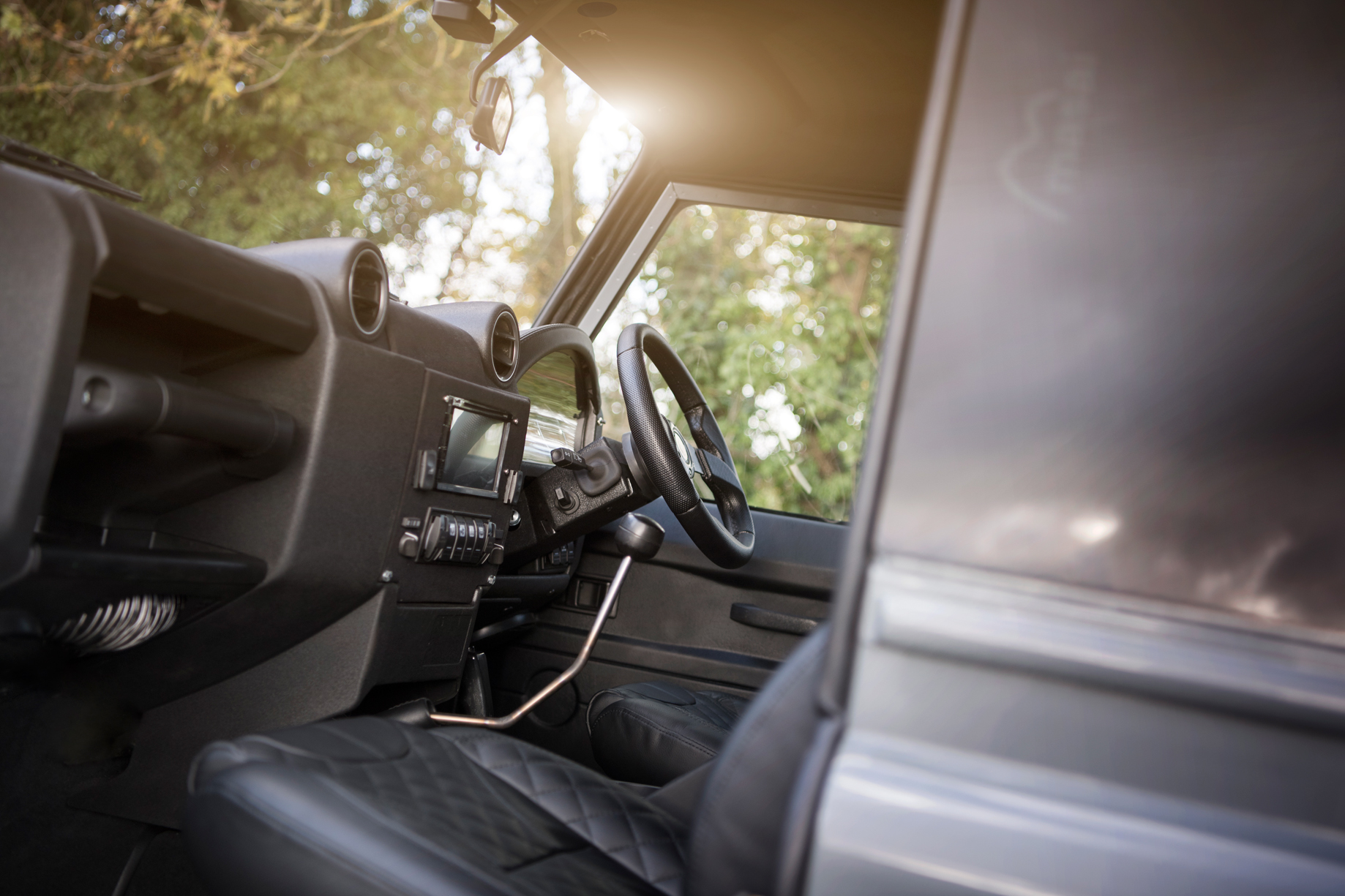 Land Rover Defender Restoration and Modernisation - Project BB Interior