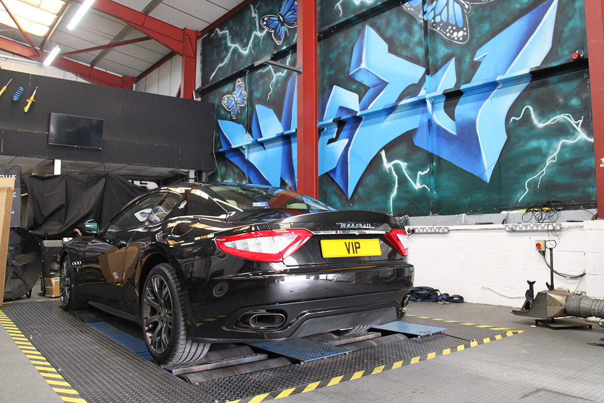 Maserati Performance Dyno Tuning & Upgrades