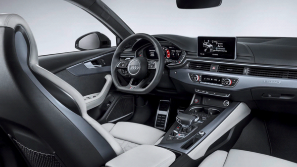 New Audi RS4 Interior