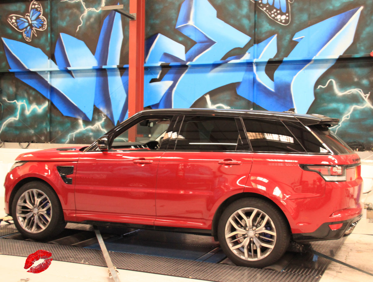 Range Rover SVR Tuning and Remap