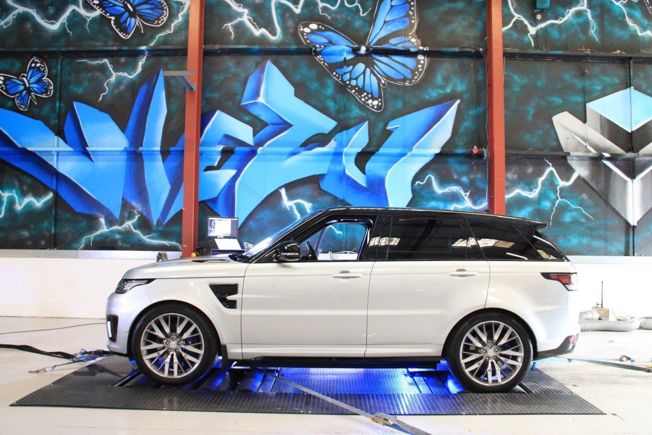 Range Rover svr tuning remap viezu