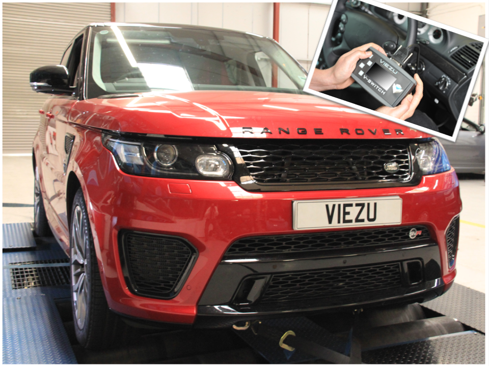 Range Rover SVR switchable tuning tool