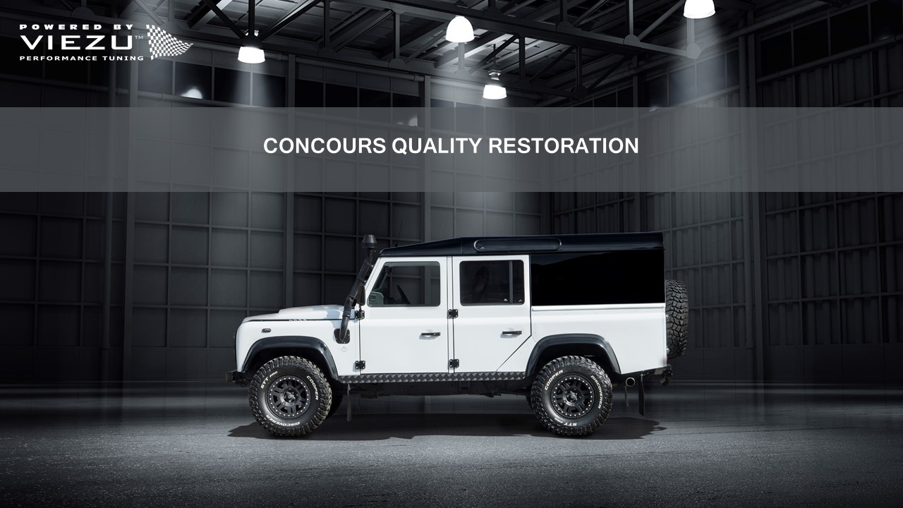 Concours Quality Restoration
