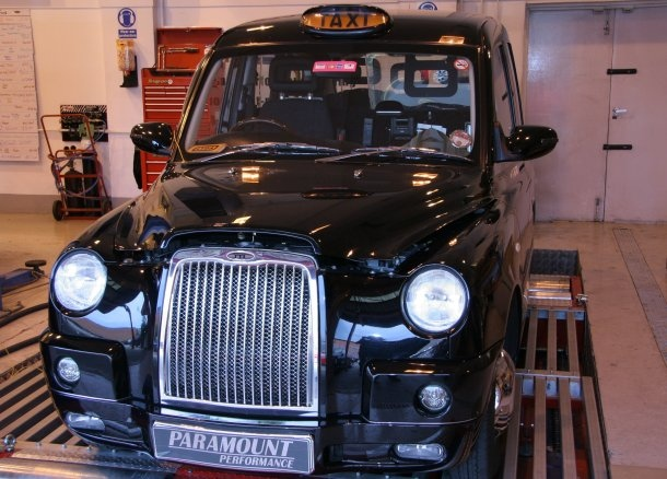 Black cab tuning fuel economy