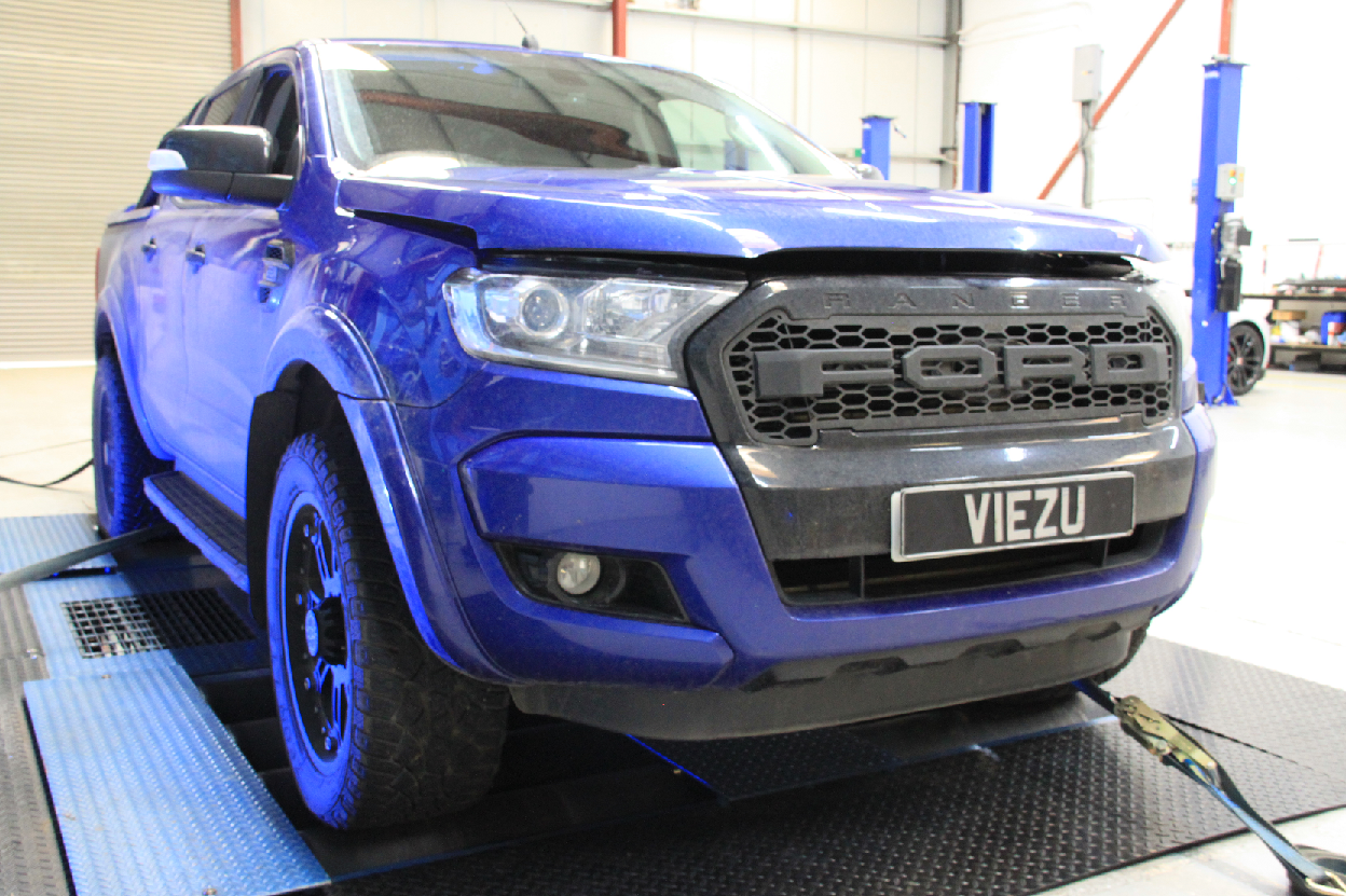 ford ranger remap from viezu technologies 2016 model