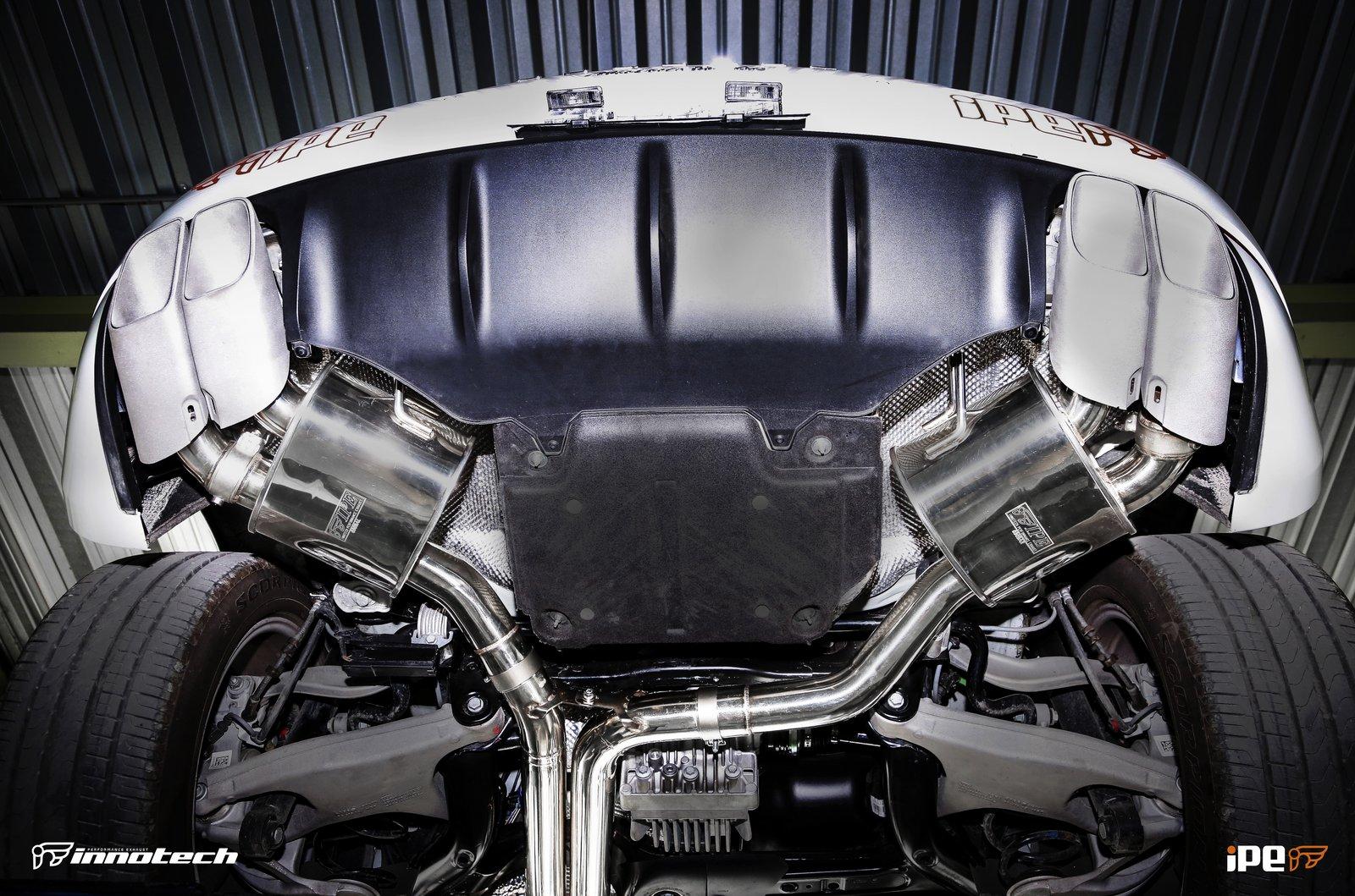 Porsche Macan Turbo Exhaust
