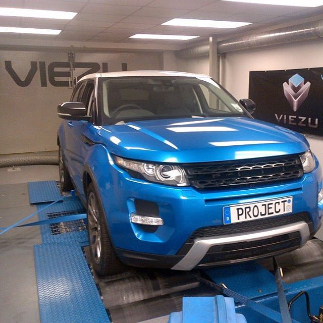 Range rover evoque tuning remap