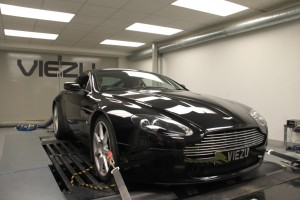 Aston Martin V8 Vantage ECU remapping and tuning