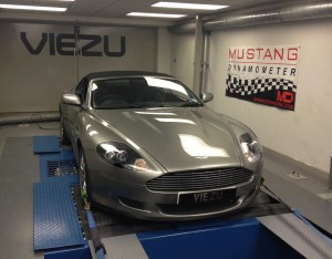 Aston Martin DB9 tuning available at viezu