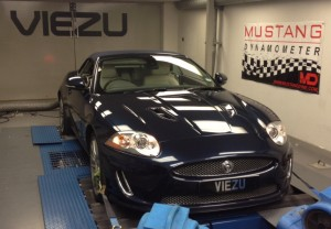 Jaguar XK in the Viezu workshop