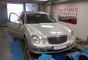 Mercedes on the Viezu dyno