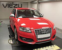 Audi S3 tuning and Audi S3 ECU remapping at Viezu