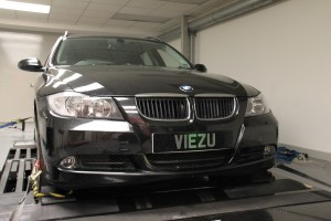 BMW 330d tuning and BMW 330d ECU remapping at Viezu