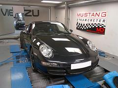 Porsche 997 tuning and Porsche 997 ECU remapping at Viezu