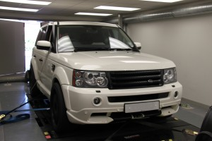 Range Rover 5.0 engine tuning
