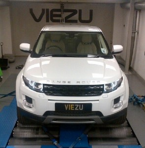 Range rover evoque tuning performance