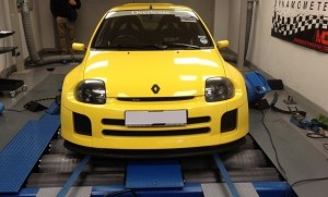 Renault Clio tuning and Renault Clio ECU remapping at Viezu