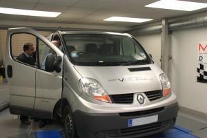 Renault Trafic Van tuning viezu