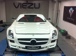 Mercedes SLS Tuning and SLS ECU Remapping at Viezu