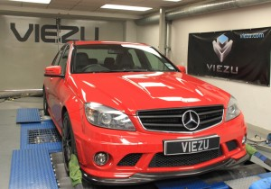 Mercedes C63 Tuning at Viezu