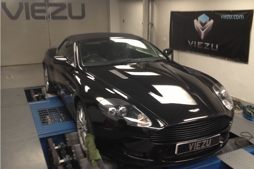 Aston Martin DB9 tuning, DB9 remapping